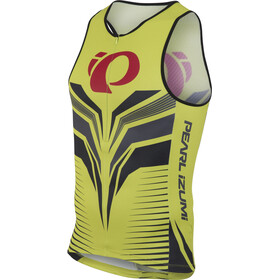 PEARL iZUMi ELITE In-R-Cool LTD Tri Top Men apose lime punch